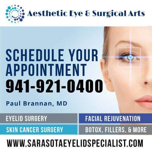 Sarasota Eyelid Specialist – NOW OPEN